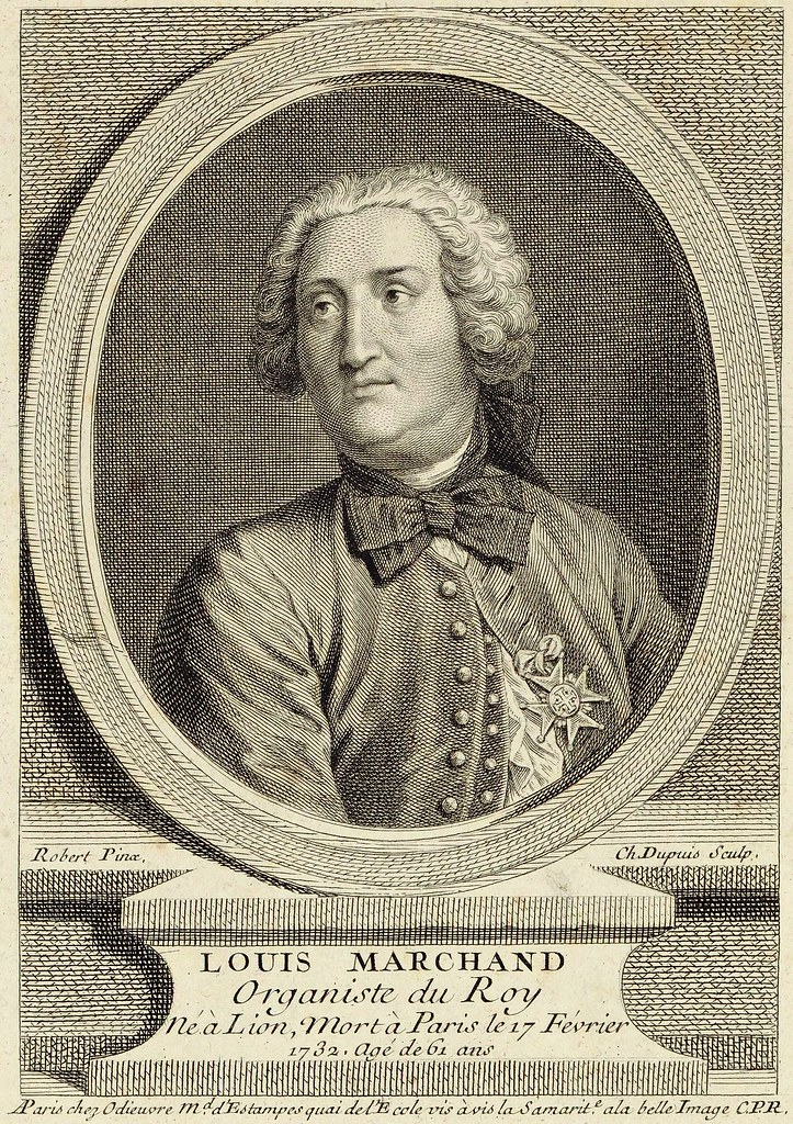 Louis Marchand (1669-1732), French composer and organist