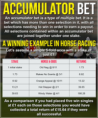 How To Work Out An Accumulator Bet - Acca Betting Explained