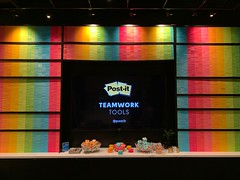 Post-It Notes Wall at the Fast Company Innovation Festival