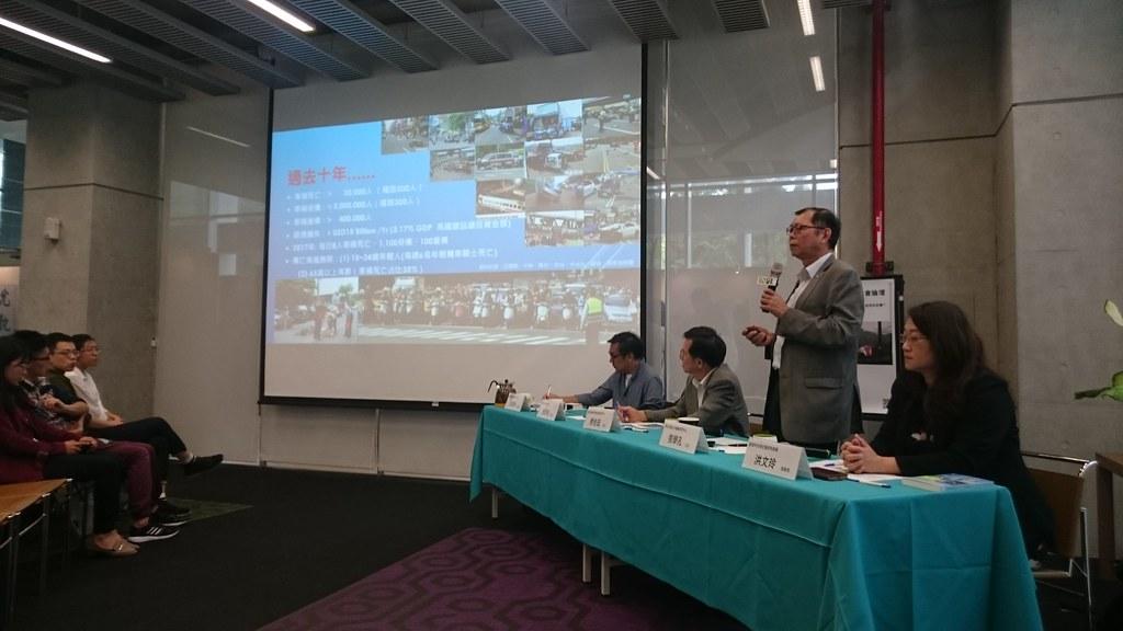 5日台大風險社會與政策研究中心舉行座談。賴品瑀攝。