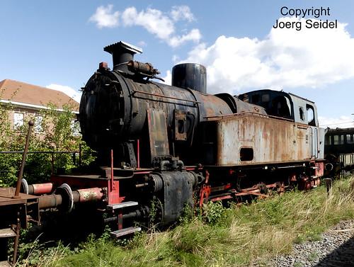 BE-9200 Baasrode Stoomtrein Dendermonde-Puurs Dampflok  EBV Anna 2 (Henschel D600 29884/1947)  im August 2018