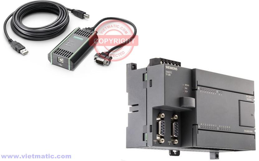 Cáp lập trình PC Adapter USB và PLC S7-200