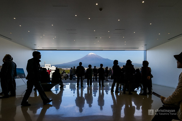 Observation hall of Mt.Fuji World Heritage Centre, Shizuoka (静岡県富士山世界遺産センター)
