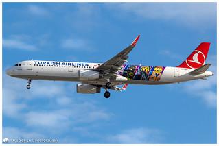 TC-JSU | Turkish Airlines | Airbus A321-231(WL)