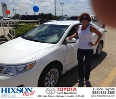 #HappyBirthday to Wendy from Rick Turnerr at Hixson Toyota of Leesville!