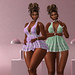 The Surreal Lyfe feat…1 Hundred. Gingham Babydoll. Lilac & Mint…New @ Designer Showcase
