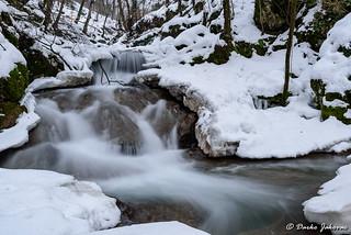 Radulja stream in Klevež