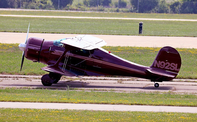 Beech Staggerwing D17S N92SL, Canon EOS REBEL T6S, Canon EF100-400mm f/4.5-5.6L IS II USM