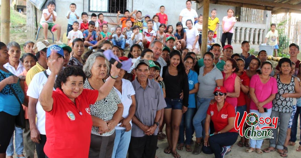 Reunión de trabajo con habitantes del sitio San Francisco de Yahuila
