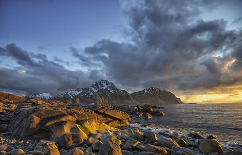 Fra Offersøya i Vestvågøy, Lofoten