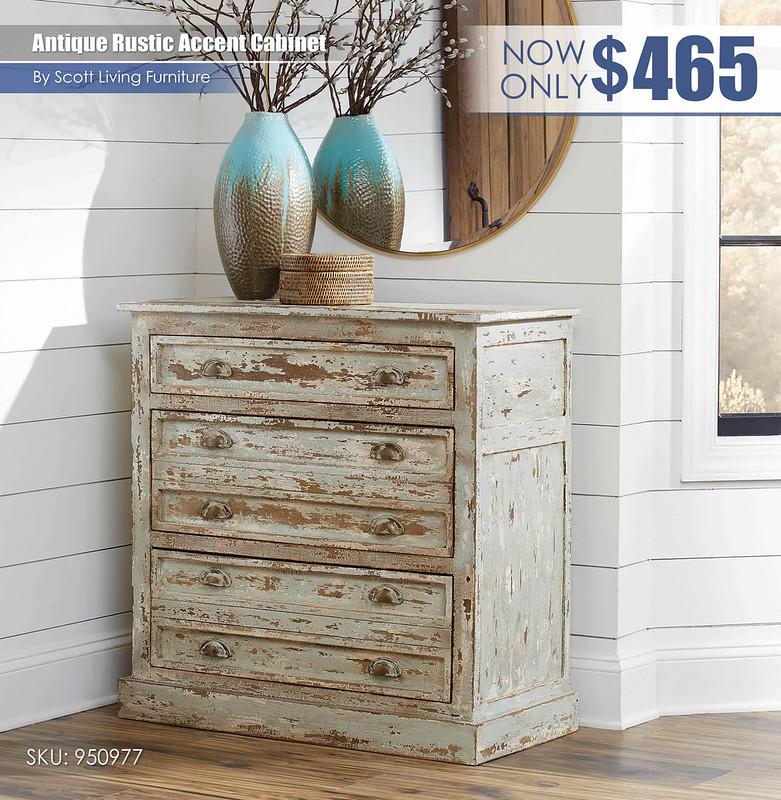 Antique Rustic Accent Cabinet_Scott Living_950977