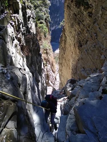 Canyons secs en hiver