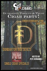 Dunbarton Tobacco and Trust Cigar Party-Smoke Inn Cigars, Vero Beach