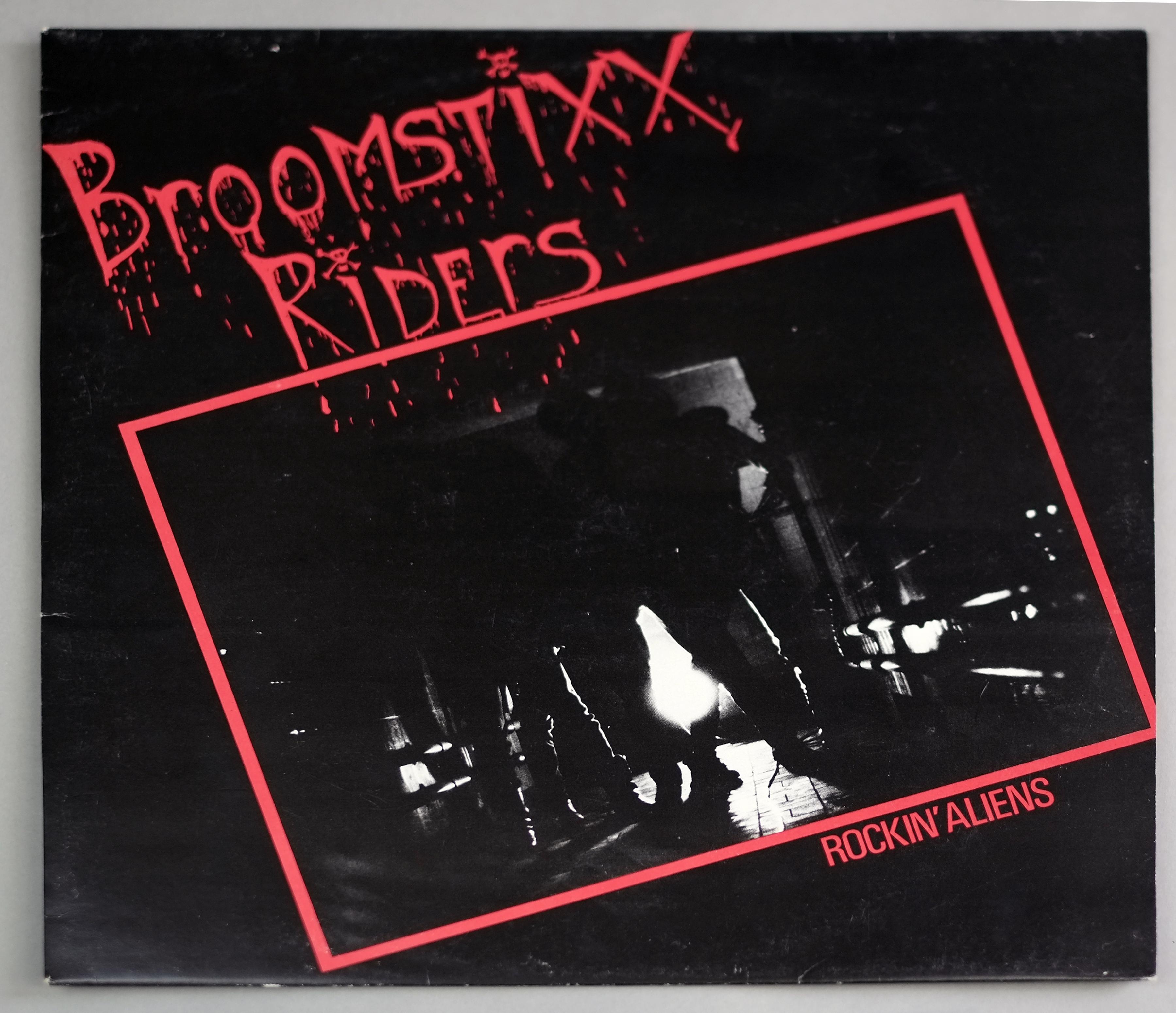 "BROOMSTIXX RIDERS ROCKIN' ALIENS PRIVATE SWISS HEAVY METAL 12"" LP VINYL"