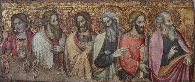 Sei Apostoli, Maestro di San Davino, Pisa Lucca 1395-1420