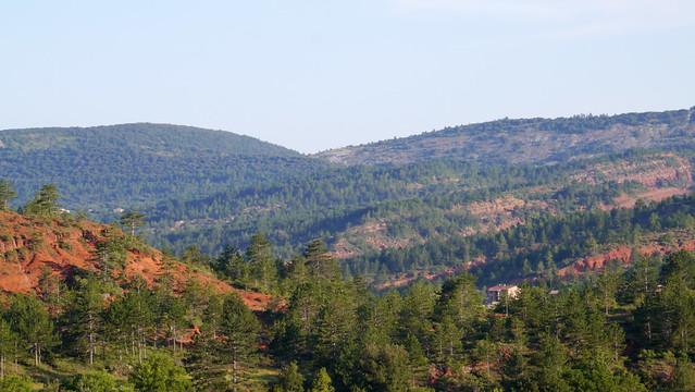 Pebrieres landscape