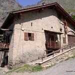 Italian village house