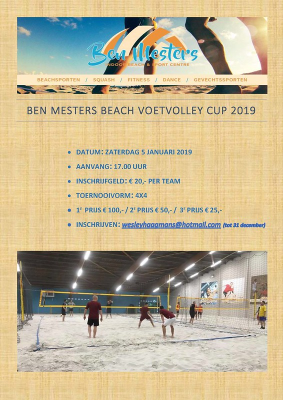 Beach voetvolley cup 2019