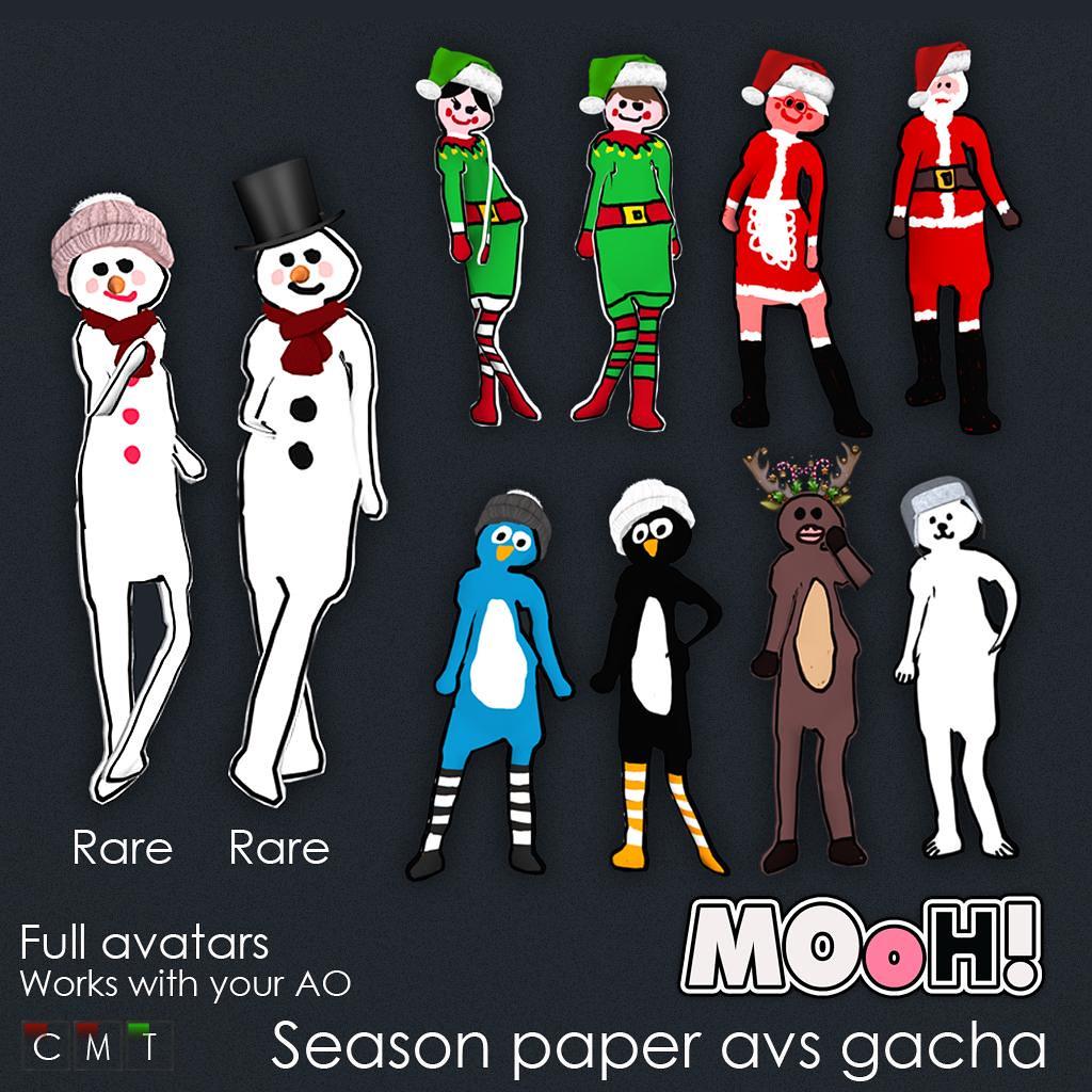 MOoH! Season paper avs gacha