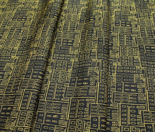 Art Gallery Fabrics Gramercy Brownstone Coated