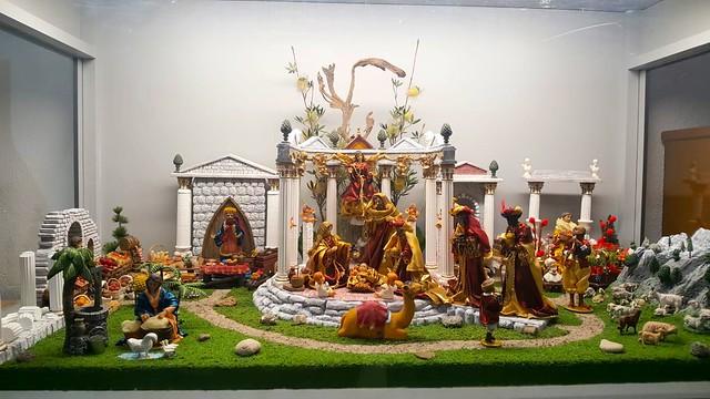 Exposición de belenes de El Carmen