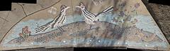 arroyo mosaic - roadrunners