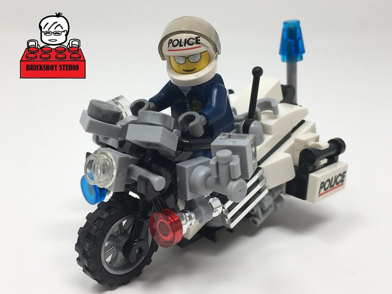 [MOC] Police Motorcycle #2