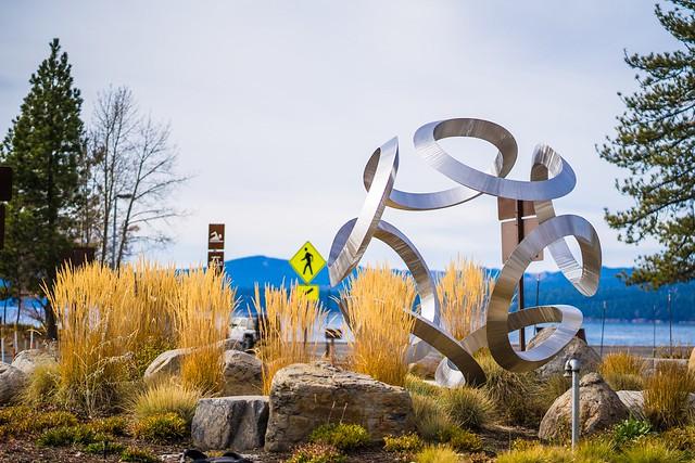 """Estrella"" art installation in Kings Beach"