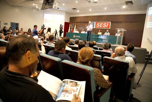 08.11.2018 Banco Mundial destaca desempenho administrativo de Manaus, referência nacional em gestão fiscal