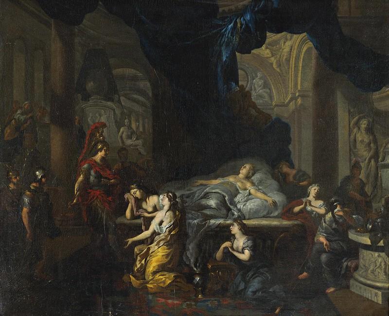 Ottmar Elliger II - Death of Cleopatra