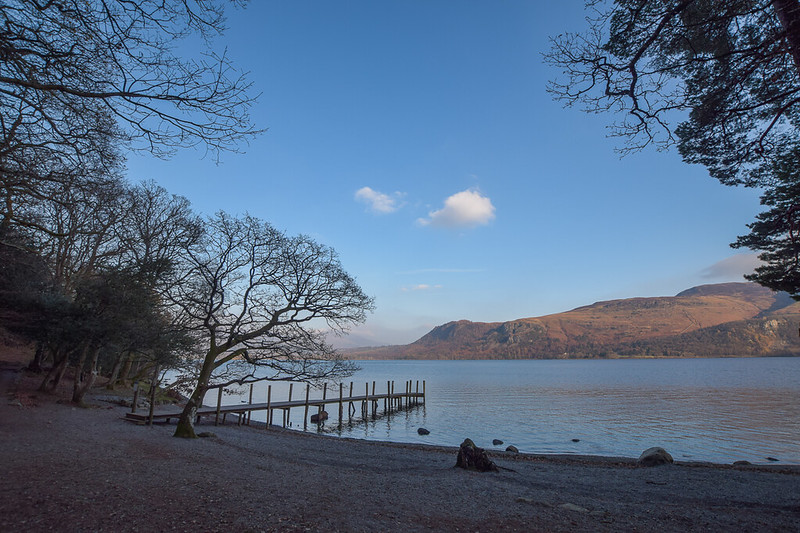 Borrowdale walks Lake District - Derwent Water