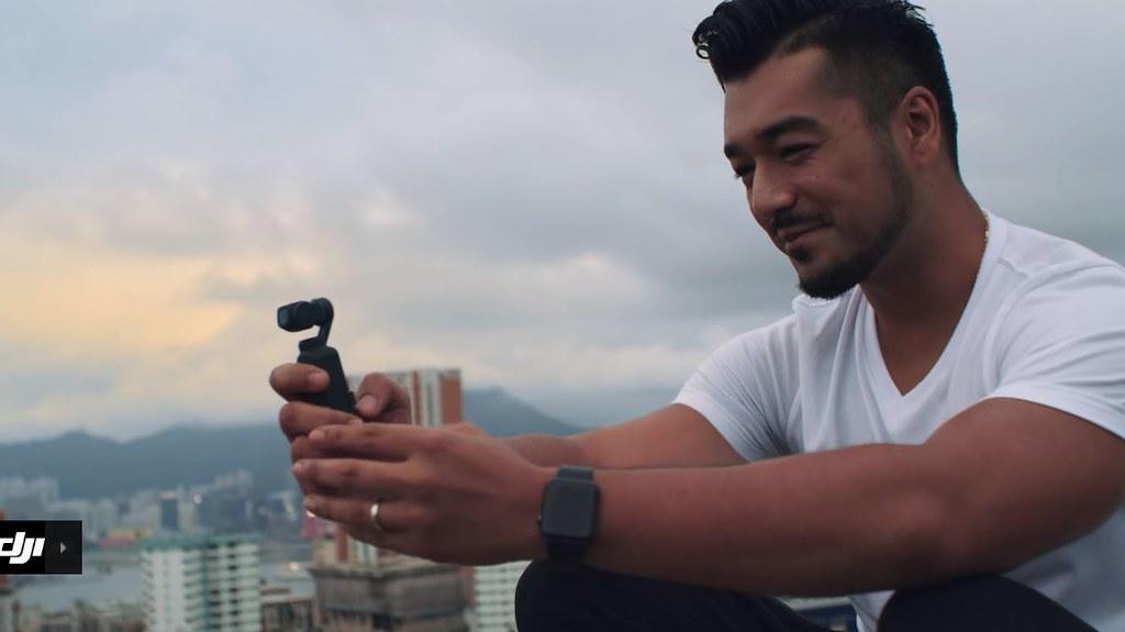 Маленькая камера - Osmo Pocket