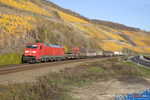 152 099 DB Cargo . Boppard . 17.11.18.