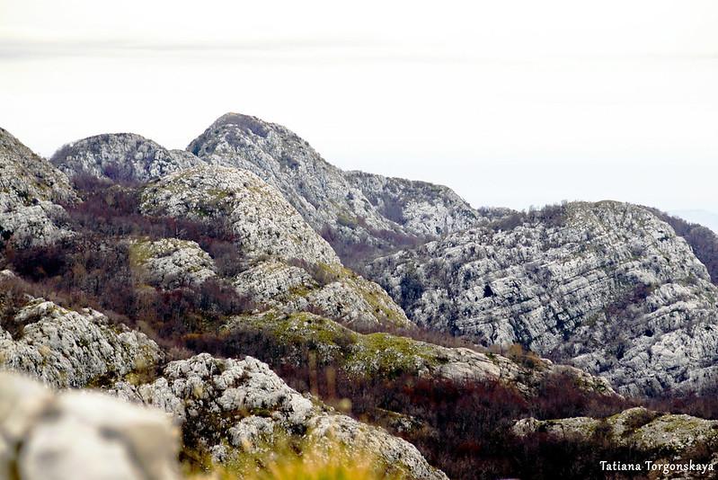 Горные склоны и вершины