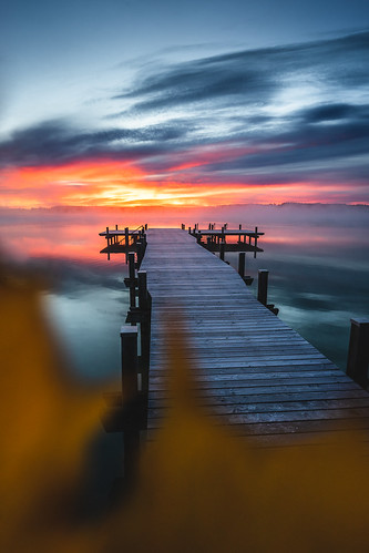 The colors of a sunrise from Toni Hoffmann