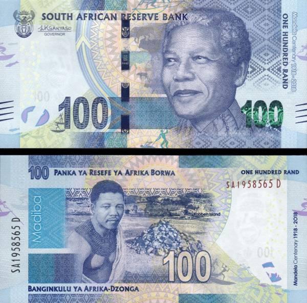 100 Randov Južná Afrika 2018, Madiba P146