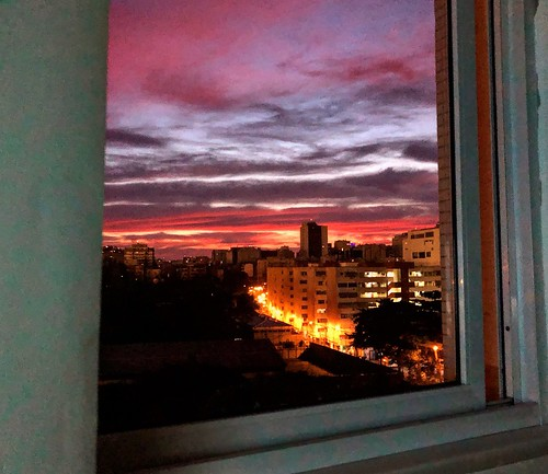Da Janela do meu quarto / Of the Window of my room.