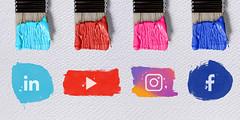 Social Media Colours