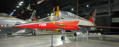 North American F-107A, National Museum of the US Air Force, Dayton, Ohio, USA.