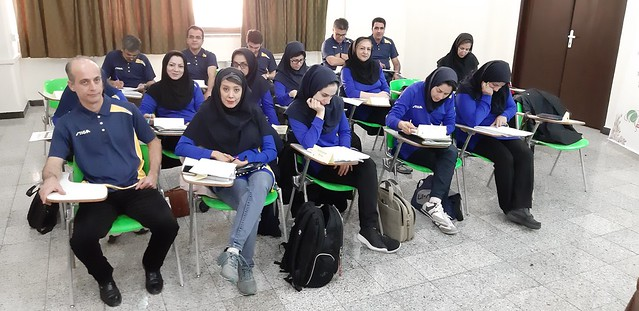 Tehran - 2018 ITTF Advanced Rules Refresher Seminar and National Referee Course