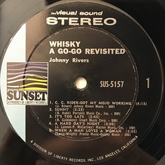 JOHNNY REVERS:LIVE AT THE WHISKY GO-GO REVISITED(LABEL SIDE-A)