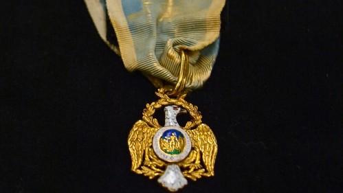 Alexander hamilton's Society of the Cincinnati medal