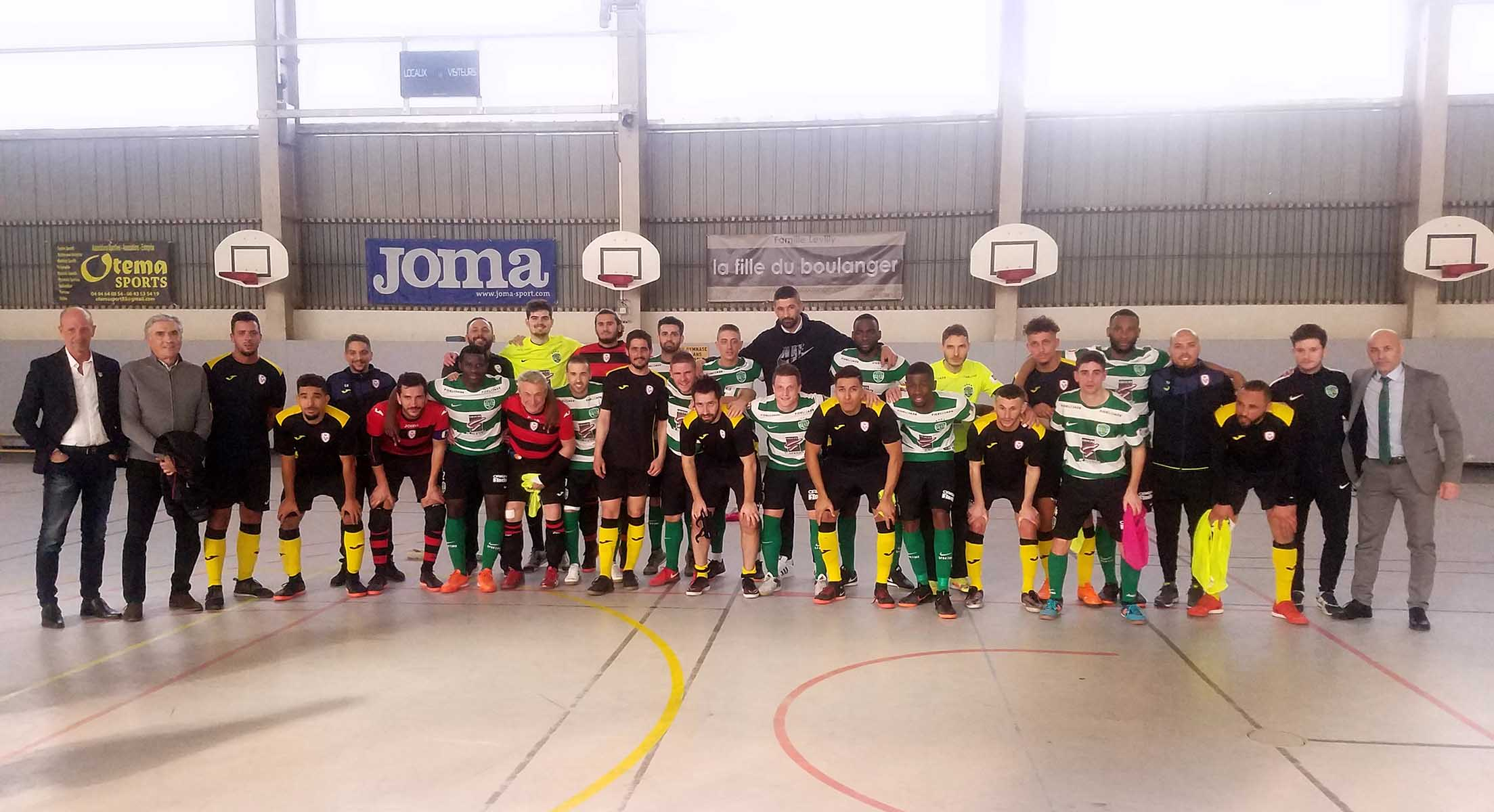 Direction les 1/4 de finale de la  Coupe Nationale de Futsal