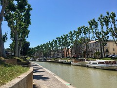 2018.06.20 - canal path - Photo of Narbonne