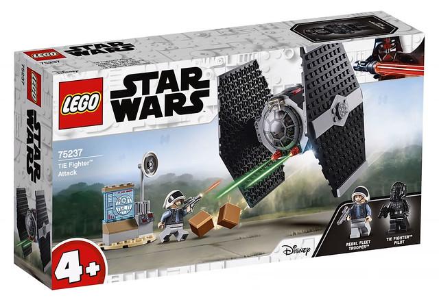 lego starwars 2019 75237 tie fighter attack 1