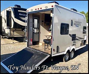 Indiana toy haulers