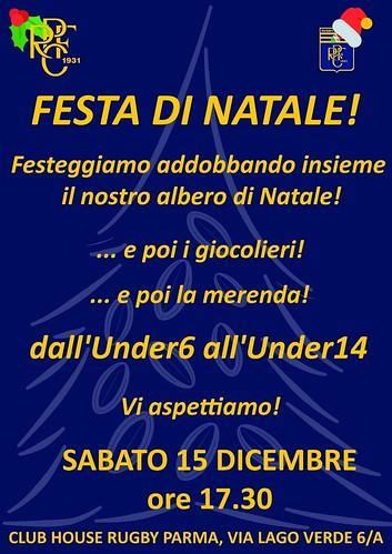 Festa di Natale minirugby e U14