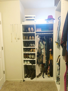 My corner of the Master Closet | by Cristina Robinson