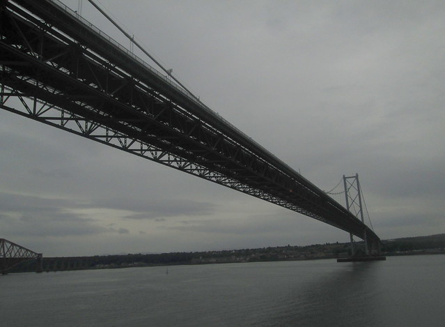 Forth Road Bridge From rIver