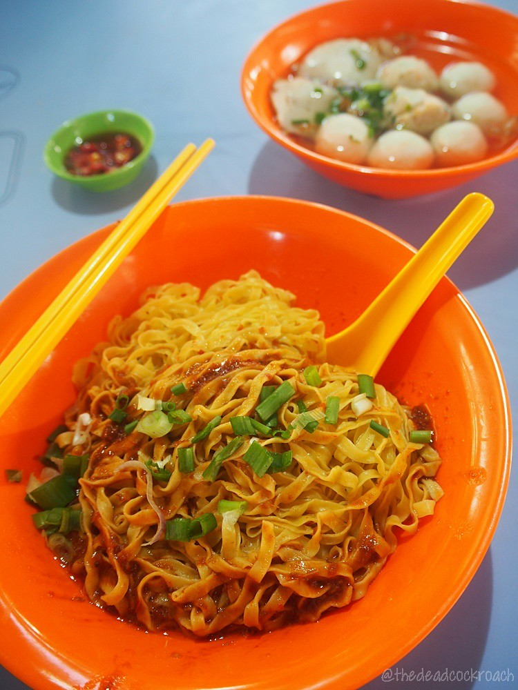 fish ball, fish ball noodle, food, food review, jurong west, jurong west food centre, mee pok, review, singapore, wen guang,文光,鱼丸面